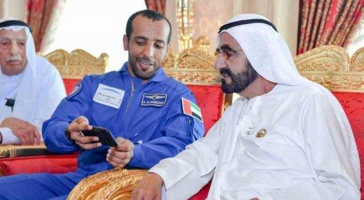 Первый космонавт из Арабских Эмиратов причалил к МКС