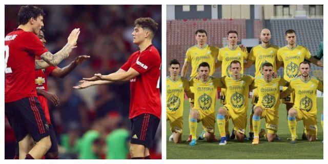 «Кошмарно»: британские СМИ о матче «Астаны» с «Манчестер Юнайтед»