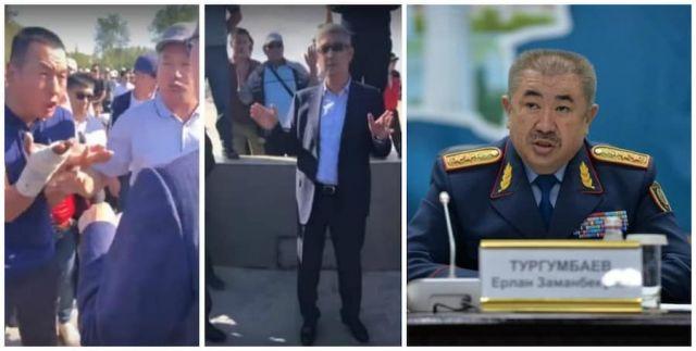 Министр внутренних дел прокомментировал ситуацию в Жанаозене