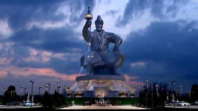 Еще один грандиозный проект: Монумент Абылай хану с лифтом в скипетре хотят установить в Казахстане