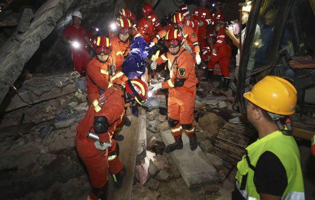 СМИ: по меньшей мере один человек погиб и 29 ранены при землетрясении в Китае
