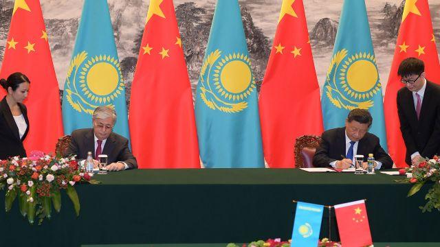 Касым-Жомарт Токаев и Си Цзиньпин подписали Совместное заявление