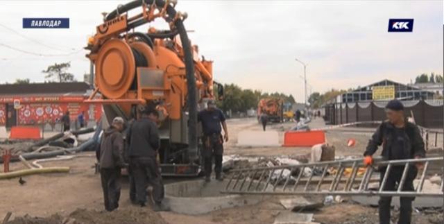 В Павлодаре  22-летний рабочий утонул в сточных водах коллектора