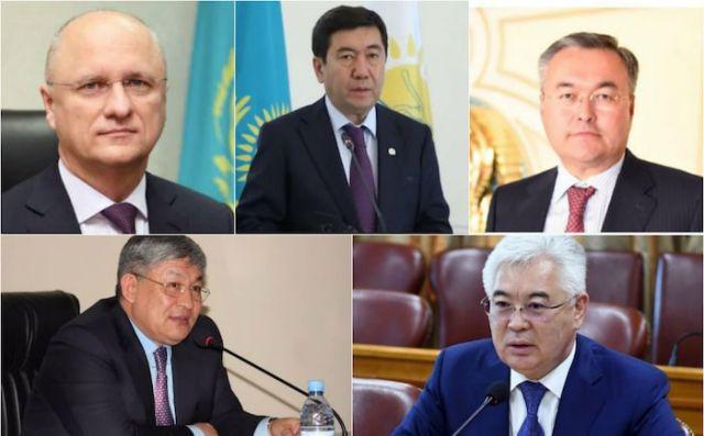 Крупные кадровые перестановки в Казахстане: кто кого сменил