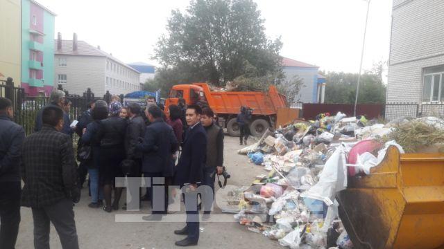 Уборку бытового мусора превратить в бизнес решили в Актобе