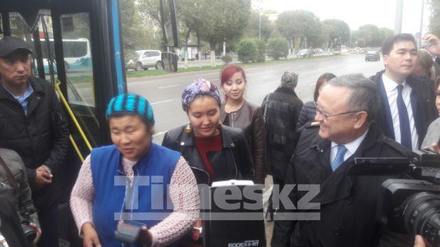 В общественном транспорте Актобе появятся валидаторы