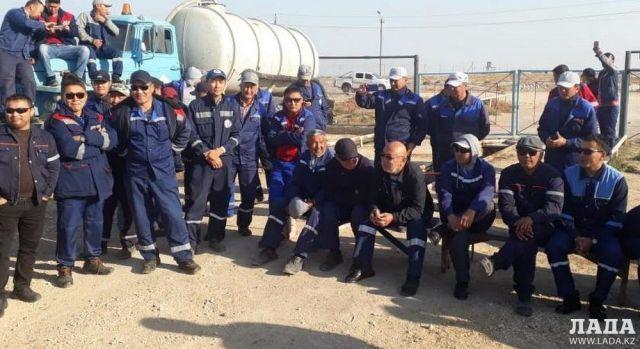 С бастующими договорились: Работники ТОО «Мобил Сервис Групп» приступили к работе