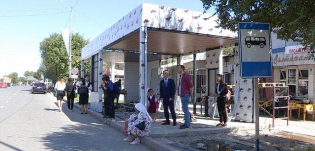 В Туркестане появятся остановки с Wi-Fi, туалетами и кондиционерами