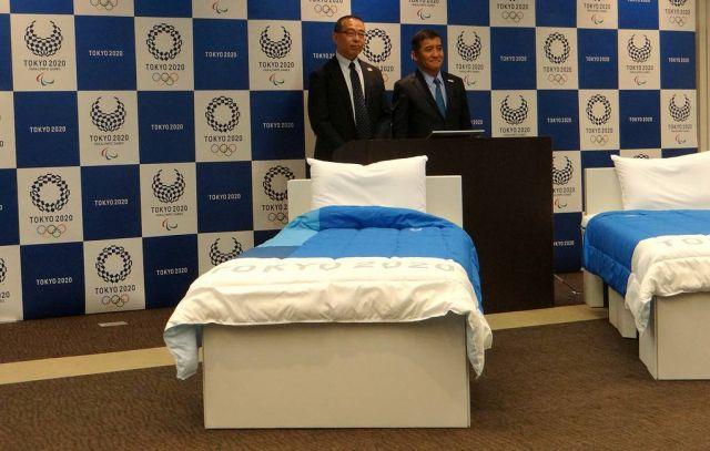 Кровати для Олимпийской деревни Игр 2020 года представили в Японии
