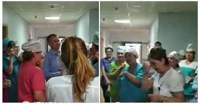 Врачи плакали, увидев выпущенного под подписку врача-анестезиолога в родной больнице