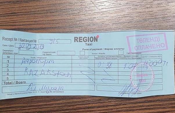 Казахская гостеприимность: таксист довез иностранца в Алматы за 15 тысяч тенге