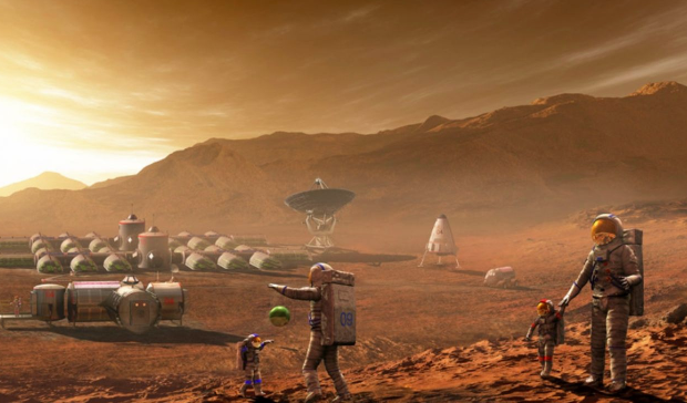 Ученые предложили отправить на Марс земные микробы