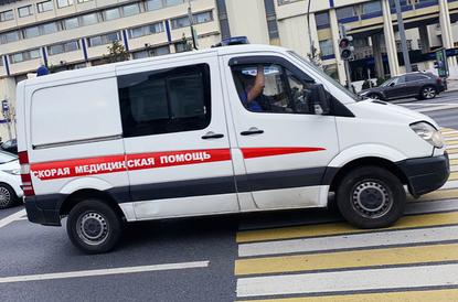 Москвич на Lamborghini отказался пропускать скорую помощь и поплатился