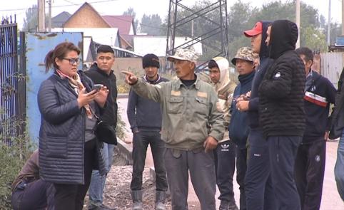 Дорожные строители вышли на забастовку в Алматы