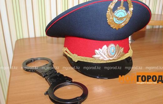 Сотрудник полиции подозревается в покушении на убийство в Уральске