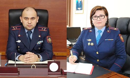 Высокопоставленные полицейские задержаны в Акмолинской области