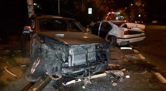 Массовое ДТП в Алматы: пострадало 8 человек, один погиб