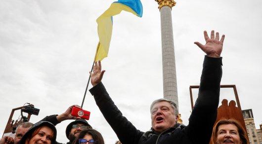 Таксист отказался везти Порошенко после митинга в Киеве
