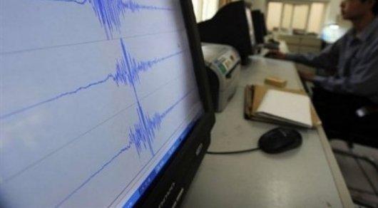 Землетрясение разбудило жителей Алматы среди ночи