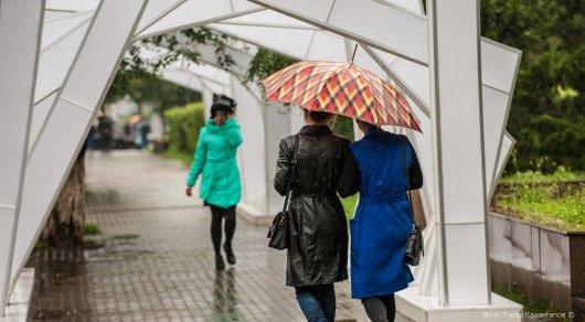 Дожди, грозы и град: погода на 10-12 октября в Казахстане