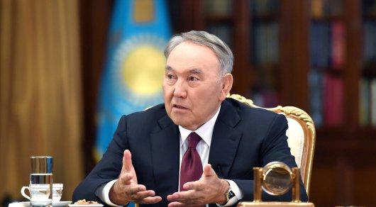 """Слухи о """"двоевластии"""": Назарбаев дал интервью"""