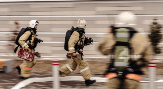 На месте пожара в Алматы было обнаружено тело женщины