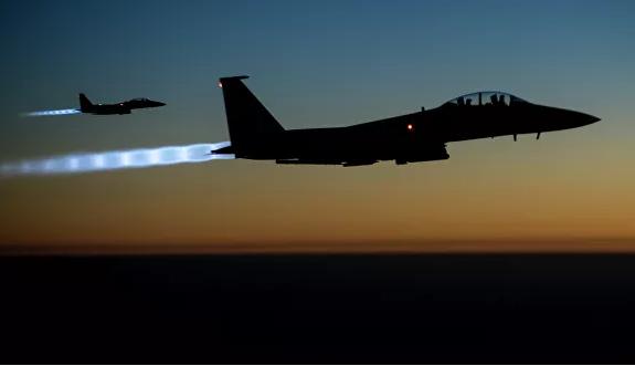 Военные коалиции США разбомбили свой склад в Сирии