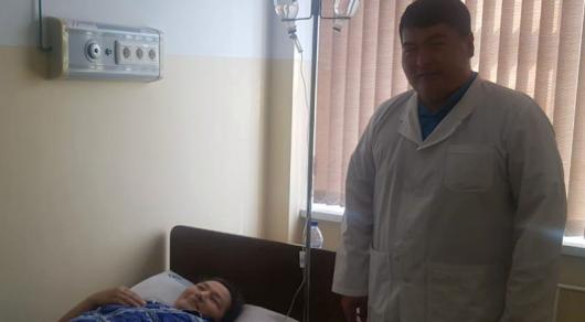Гигантского паразита извлекли из беременной в Шымкенте