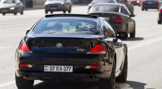 Водители с кыргызскими и армянскими номерами будут получать штрафы в РК