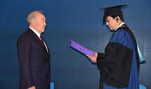 Назарбаеву присвоили новое звание