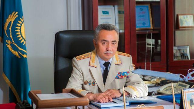 Тургумбаев отстранил от должности начальника полиции Акмолинской области