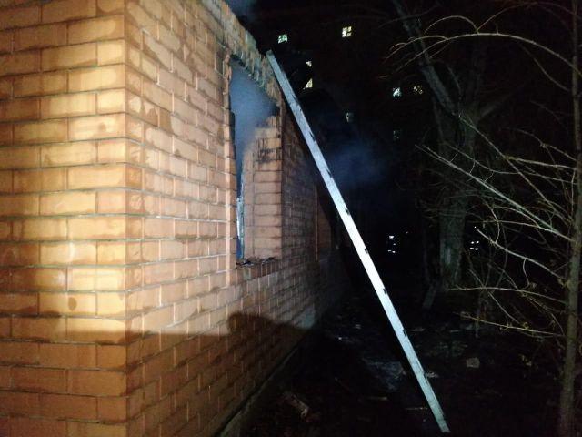 В Актобе горела станция скорой помощи