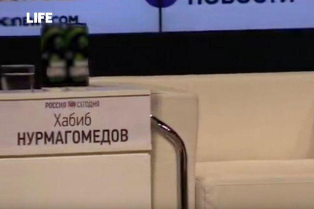 Хабиб отказался выходить на свою пресс-конференцию в Москве