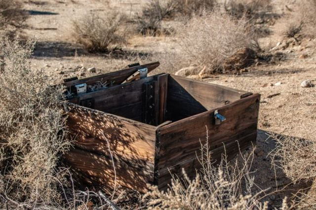 Тело модели найдено в ящике с бетоном в пустыне Невада