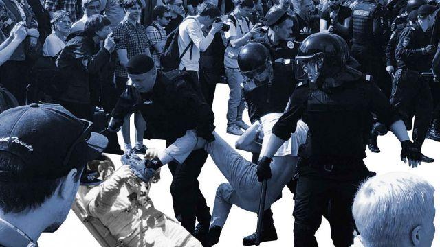 Казахстанцев будут наказывать за посещение митингов с детьми