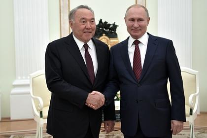 Назарбаев рассказал о согласии Зеленского встретиться с Путиным