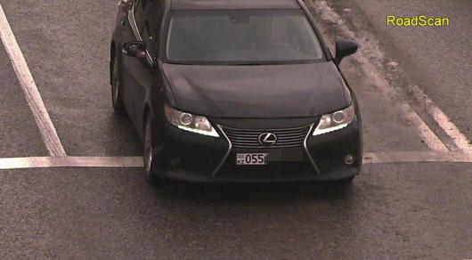 """Lexus с """"левыми"""" номерами 200 раз нарушил ПДД в Алматы"""