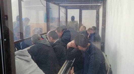 Жуткие фото и видео показали в суде по делу возвращенных казахстанцев из Сирии