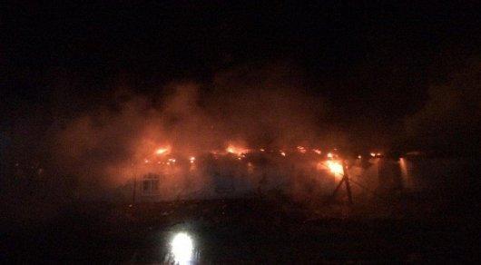 Тела матери и двоих сыновей найдены при тушении пожара в Алматинской области