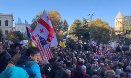 Тбилиси вновь охватили акции протеста