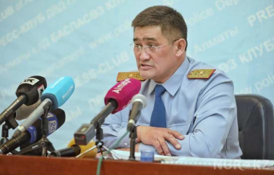 Как изменилась преступность в Алматы за пять лет, рассказал Серик Кудебаев