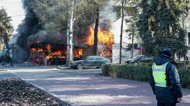 В Бишкеке прогремели три взрыва в кафе