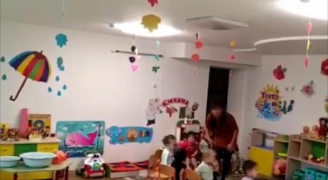 Грубое обращение в детсаду Нур-Султана попало на видео