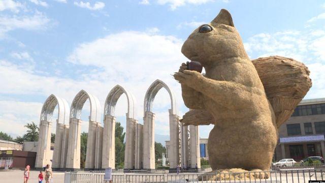 Белку на Атакенте в Алматы демонтируют – акимат