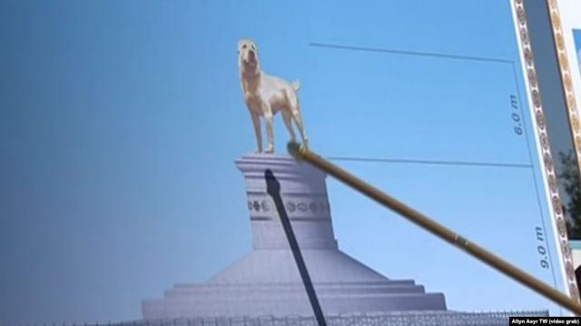 В Ашхабаде установят монумент алабая