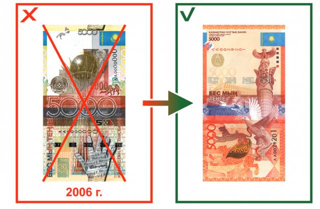 Нацбанк напоминает, что с  2020 года  перестает принимать старые банкноты