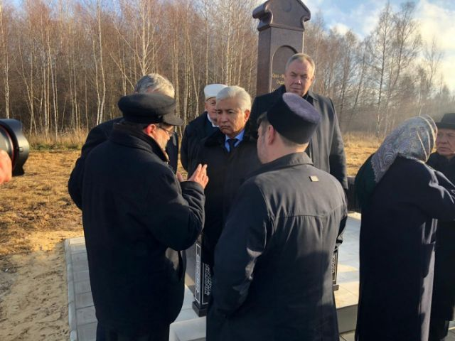 В России установили мемориальную плиту казахскому султану