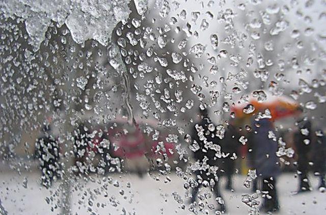 Дождь со снегом ожидаются 19 ноября на большей части территории Казахстана