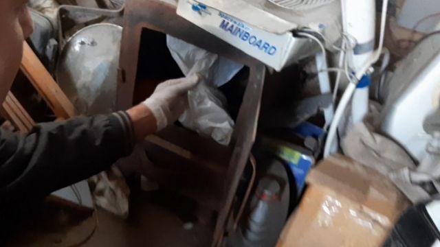 Видео закладки наркотиков опубликовала полиция Алматы