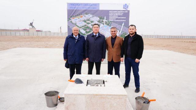 Уникальную мечеть  построят в Туркестане